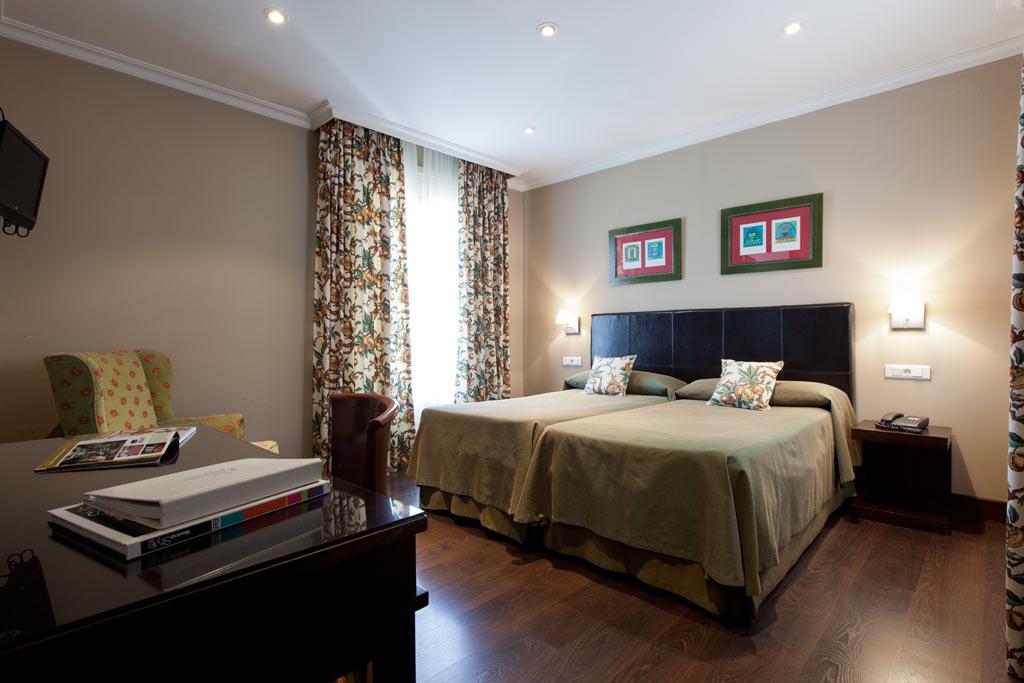 Habitacion 2 camas madrid
