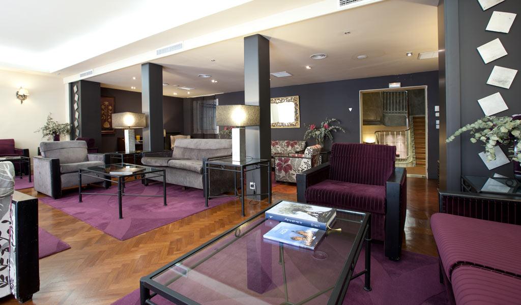 Galerie hotel moderno madrid for Madrid moderno