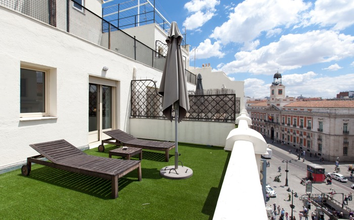 Madrid culturale hotel moderno puerta del sol for Hotel moderno madrid booking